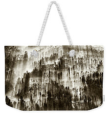 Weekender Tote Bag featuring the photograph Rays Of Light by Pradeep Raja Prints
