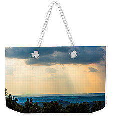 Weekender Tote Bag featuring the photograph Rays Of Nature by Parker Cunningham