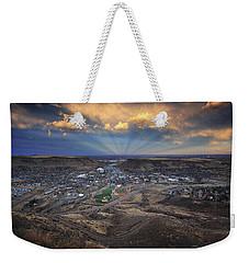Rays Over Golden Weekender Tote Bag