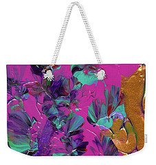 Razberry Ocean Of Butterflies Weekender Tote Bag