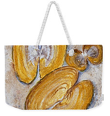 Razor Clam Trio Weekender Tote Bag