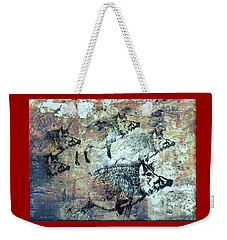 Wild Boars Weekender Tote Bag by Larry Campbell