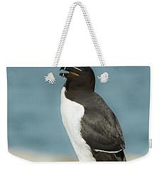 Razorbill Portrait Weekender Tote Bag