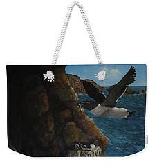 Razorbills Weekender Tote Bag by Eric Petrie