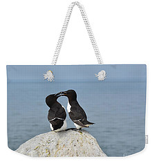 Razorbills In Love Weekender Tote Bag