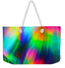 Weekender Tote Bag featuring the photograph Razzi by Greg Collins