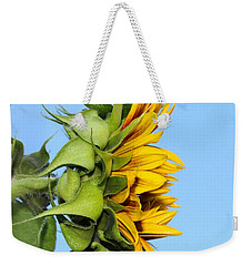 Reaching Sunflower Weekender Tote Bag