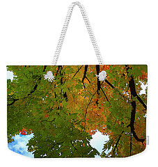 Weekender Tote Bag featuring the photograph Reaching For The Sky by Gary Hall