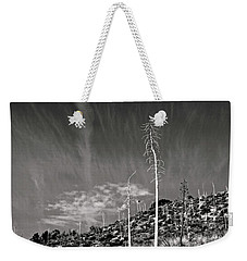 Reaching For The Sky Weekender Tote Bag by Timothy Bulone