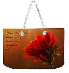 Reaching Inspiration Weekender Tote Bag
