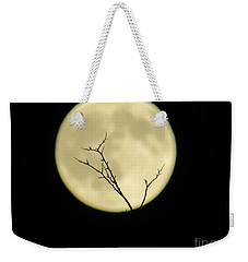 Reaching Out Into The Night Weekender Tote Bag by Kelly Awad