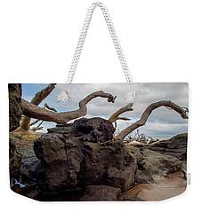 Reaching Weekender Tote Bag by Robert Och