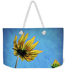 Reaching Skyward Weekender Tote Bag by Sue Melvin