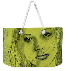 Read My Lips Weekender Tote Bag