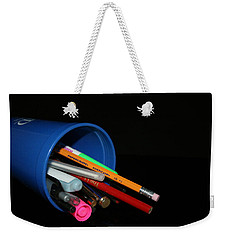 Ready To Write Weekender Tote Bag by Cathy Harper