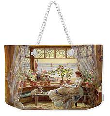 Reading By The Window Weekender Tote Bag