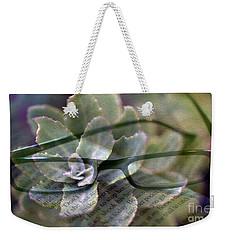 Reading Plants Weekender Tote Bag