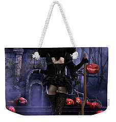 Ready Boys Halloween Witch Weekender Tote Bag by Shanina Conway