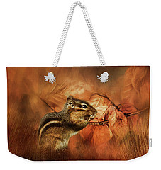 Ready For Autumn Weekender Tote Bag by TnBackroadsPhotos
