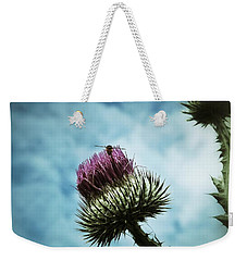 Weekender Tote Bag featuring the photograph Ready For Take-off by Karen Stahlros