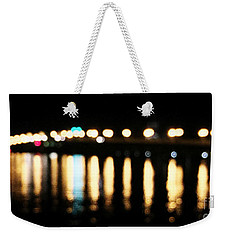 Bridge Of Lions -  Old City Lights Weekender Tote Bag by LeeAnn Kendall