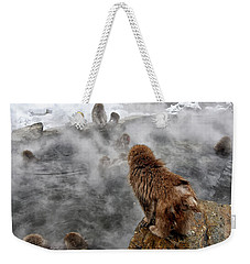 Ready For The Plunge Weekender Tote Bag