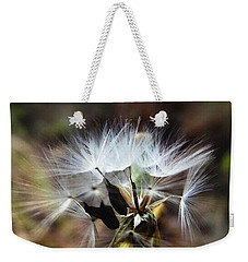 Ready To Fly... Salsify Seeds Weekender Tote Bag