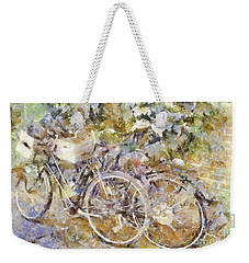 Ready To Ride Weekender Tote Bag by Shirley Stalter
