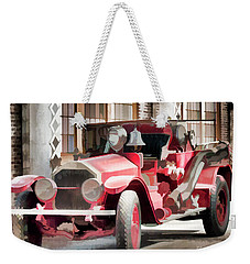 Ready To Serve Again Weekender Tote Bag by Wilma Birdwell