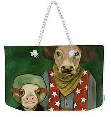 Real Cowboys 3 Weekender Tote Bag