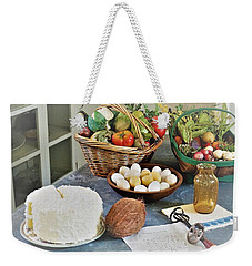 Real Food Weekender Tote Bag