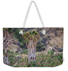 Real Palm Tree Weekender Tote Bag