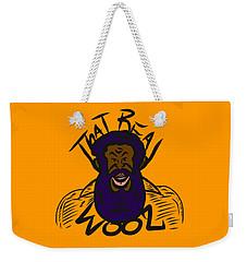 Real Wool Gold Weekender Tote Bag
