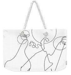 Really Loose Drawing 2 Weekender Tote Bag