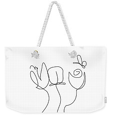 Really Loose Drawing  Weekender Tote Bag