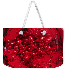 Really Red Weekender Tote Bag