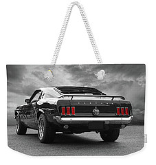 Rear Of The Year - '69 Mustang Weekender Tote Bag