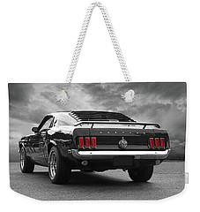 Rear Of The Year - '69 Mustang Weekender Tote Bag