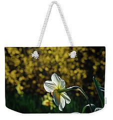Rear View Daffodil Weekender Tote Bag