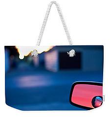 Rearview Mirror Weekender Tote Bag