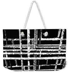 Rebar And Brick - Industrial Abstract Weekender Tote Bag