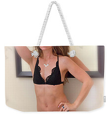 Weekender Tote Bag featuring the photograph Rebecca In The Morning by Hugh Smith