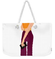 Weekender Tote Bag featuring the  Rebecca by Nancy Levan