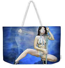 Rebel Blue Weekender Tote Bag