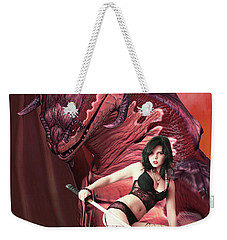 Rebel Dragon Weekender Tote Bag