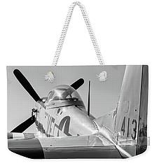 Rebel Steed - 2017 Christopher Buff, Www.aviationbuff.com Weekender Tote Bag