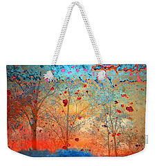 Rebirth Weekender Tote Bag by Tara Turner
