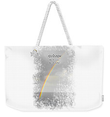 Weekender Tote Bag featuring the photograph Reborn by Judy Hall-Folde