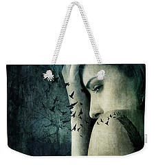 Recalculating Weekender Tote Bag by Christina Lihani