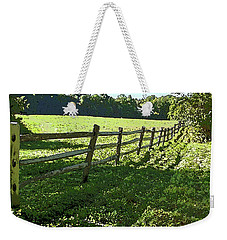 Weekender Tote Bag featuring the photograph Receding Summer by Betsy Zimmerli
